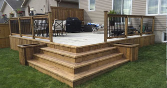 Superlative Construction & Remodeling Co. Seattle General Contractor Decks and Fences Services